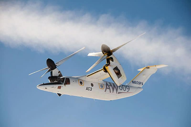 Featured Aircraft AW609 Tiltrotor