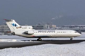 Yak 42 - Private Jet Charter