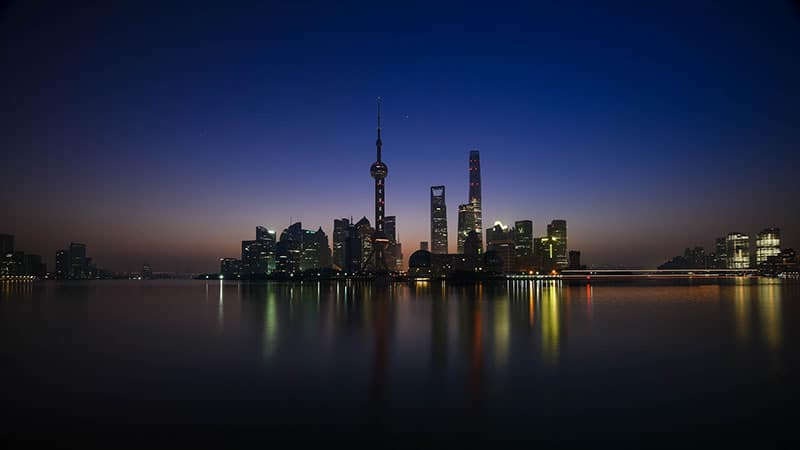Shanghai China's Business Hub